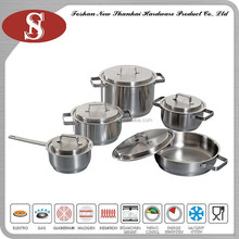 10Pcs New product Promotion look professional stainless steel cookware