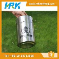 China wholesale stainless steel beer bar using steel growlers 64 oz