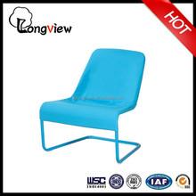 the latest design,Leisure metal frame garden lounge chair(blue),Modern Fabric Armchair Single Sofa Couch
