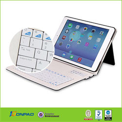 Stand support function arabic keyboard case for ipad,for ipad air case