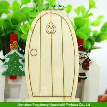 NEW 2015 unpainted D5 laser cut wooden fairy faerie elf doors Christmas decorations