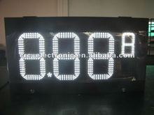 led display board price of Gas station for 2012 promotion price