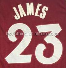 LeBron James 23 Cleveland 2015 Christmas Edition National Basketball Jersey