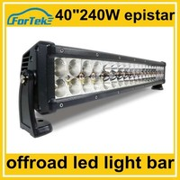 40 inch 240W epistar curved led light bar