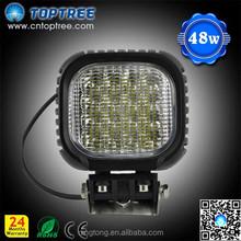 12v 24v protable led light roof hanging led lamps for jeep truck 3 wheel car, 48w led work light