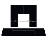 beautiful cheap back panel and hearth for fireplace