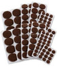 BSCI Approved HOT SALES various size,Chair Floor Protector Heavy Duty Self Stick furniture felt pads