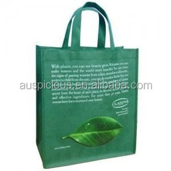 Factory price full color lamination non woven shopping bag
