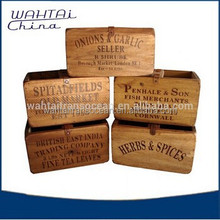 2015 new products wooden fruit crates for sale