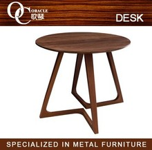 Elegant Design living room walnut dining table and chair/living room furniture