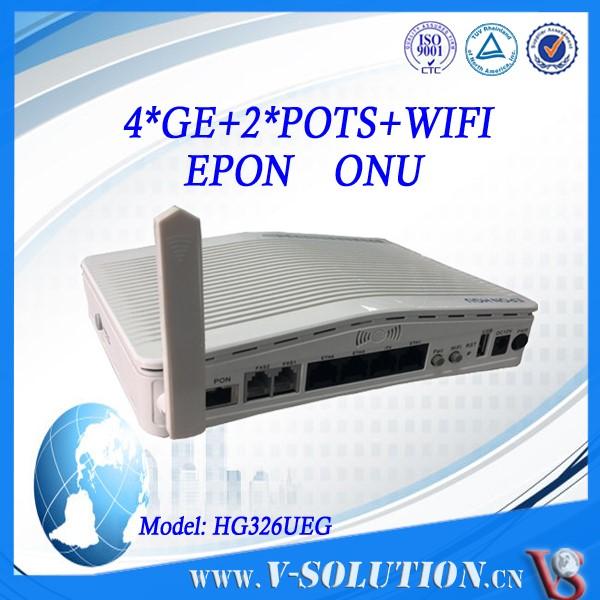 Certifié ce FTTH 1U 8 pon Couche 3 Route Gepon BTA Soutien SNMP Telnet CLI