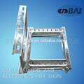 Calidad HDG tipo perforado stamping escalera de cable y unistrut para barcos y edificios fábrica profesional