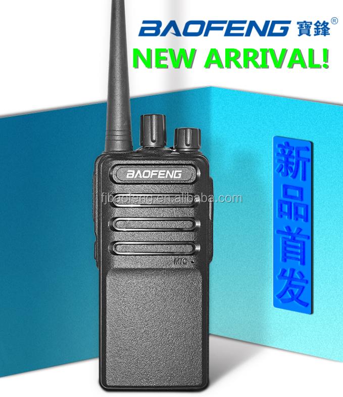 ¡2018 nueva llegada! Baofeng BF-V2 UHF 400-470 MHz 16 canales únicode jamón FM 5 V USB carga rápida con programación del PC