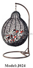 Durable Metal Frame Patio Hanging Swing Chair