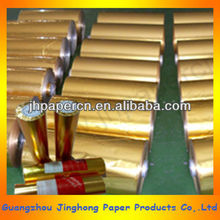 Paper + Metallized film roll for food