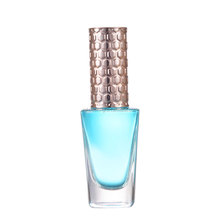 wholesale fashion hot sale custom empty square nail polish glass bottle with cap and brush