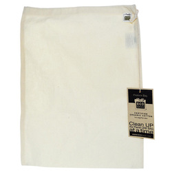 plain blank cotton bag with label