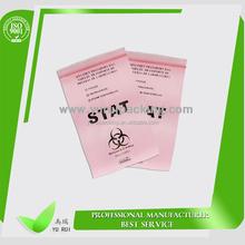 Promotional colored self-sealing/zip-lock bag