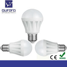 CE ROHS 7W led bulb homemade Aluminum House Super Bright with Epistar Chip