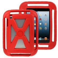 Hollow Style Shockproof EVA Foam Protective Case for iPad mini 3 with Handle