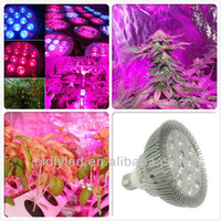 Agriculture Products cidly cheap led growing lighting hydroponics PAR38 36W E27 led grow light for growing plants