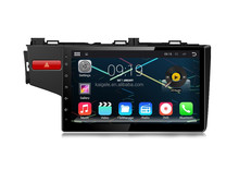 Android 10.1 inch car dvd player for Fit 2014 with BT,Radio,DVD,IPOD function,1024 * 600 pixel