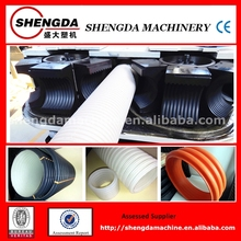 well selled automatic plastic PE double-wall corrugated pipe machines for sale