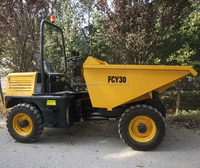 3ton mine site dumper Hydraulic system,4x4 wheel drive