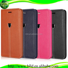 Hot selling facotry wholesale for Iphone 6 Ultra slim leather case