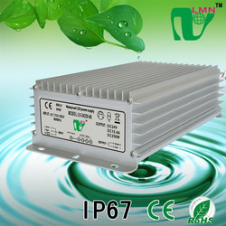 CE IP67 waterproof constant Voltage street light led driver 24V 250W