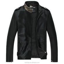 Calf Skin Short Men's Geniune Leather Jackets