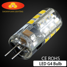 led G4 AC/DC 12V high quality bulbs
