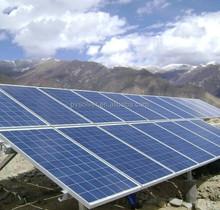 ground solar mount bracket installation for solar panels