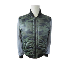 2014 winter padded jacket man green color keep warm padded down jacket long coats for man
