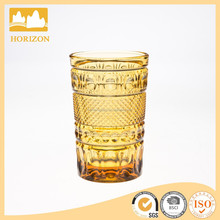 hand made colored highball glass tumbler glass water glass