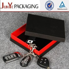 Manufacturer supplies elegant gift packaging lid and tray branded boxes