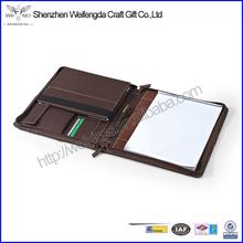 High Quality Custom Fashionable Cheap Leather Portfolio