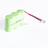 NI-MH Rechargeable 2/3 AA 600mAh 3.6V battery pack for wireless phone