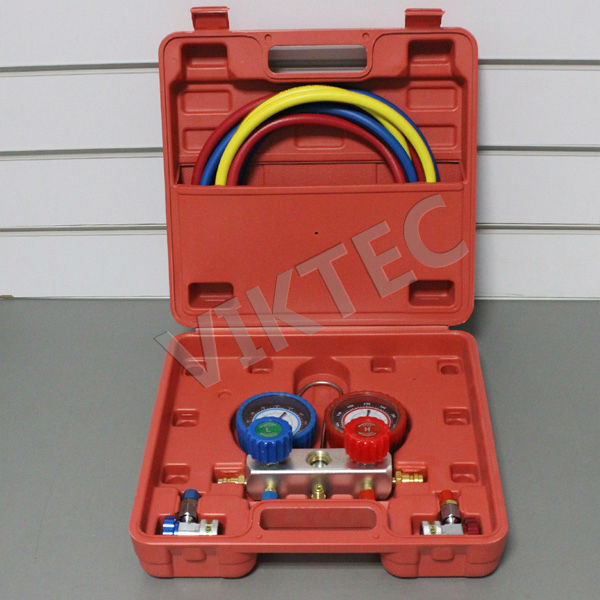 Car Repair Tool R-134a High Quality Common Cool Gas Meter Auto Tool(VT01048)