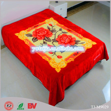 Hot selling excellent quality super soft polyester blanket made in China