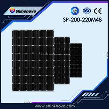PV Solar Panel 220w Solar panel Mono Crystalline Silicon for sale