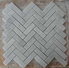 2015 new Sliced Java Tan and White Pebble Tile Border 1 piece