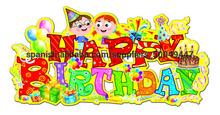 Niños Gratis cumpleaños Set