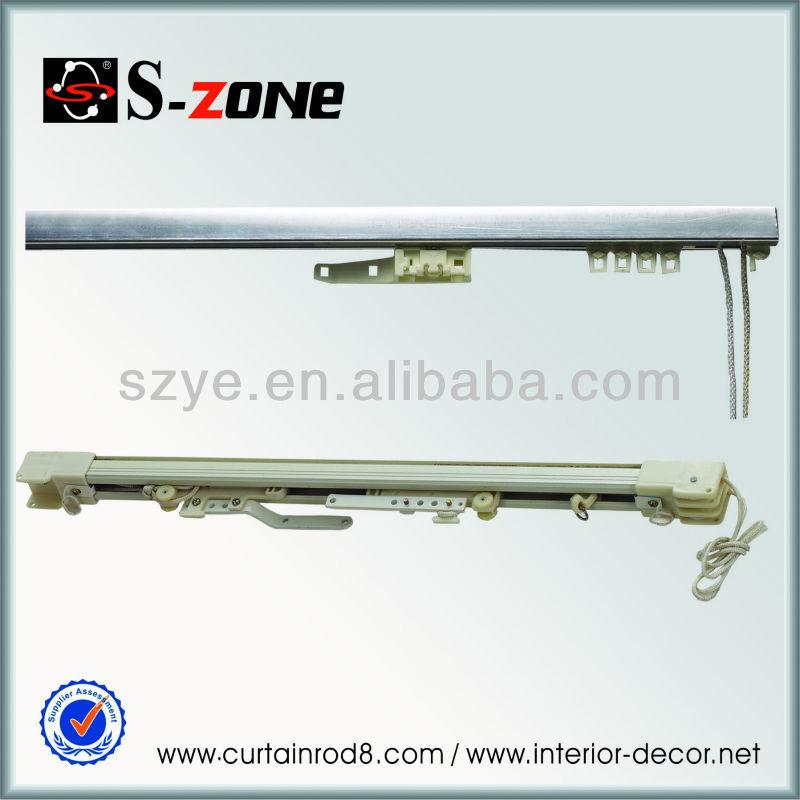... Curtain Track Rail Plasti,Sliding Curtain Track Rail Pole Rod Plastic