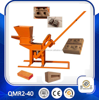 QMR2-40 clay interlock block making machine