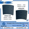 China wholesale auto parts non-asbestos truck brake lining