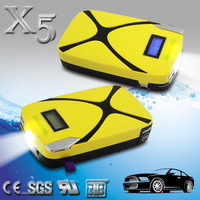 Portable rony power bank peak 400A lithium polymer 8000mAh high security multi-function car 12v compact jump starter