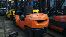 Used 3 ton Toyota Forklift for sale , Toyota 7FD30 forklift with 3 stage mast