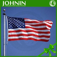 high quality promotion polyester 3X5 american flag