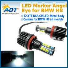 12V high power chips high power led angel eye kit for H8 E60,E90,E92 angel eyes